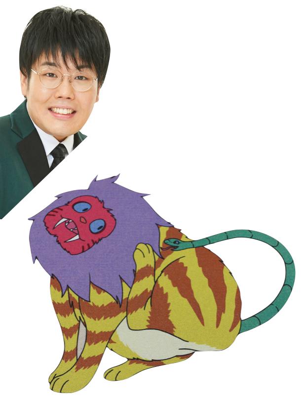 【京都国際映画祭展示の吉本芸人アートバッグ】蛙亭 中野「鵺(猫感強め)」