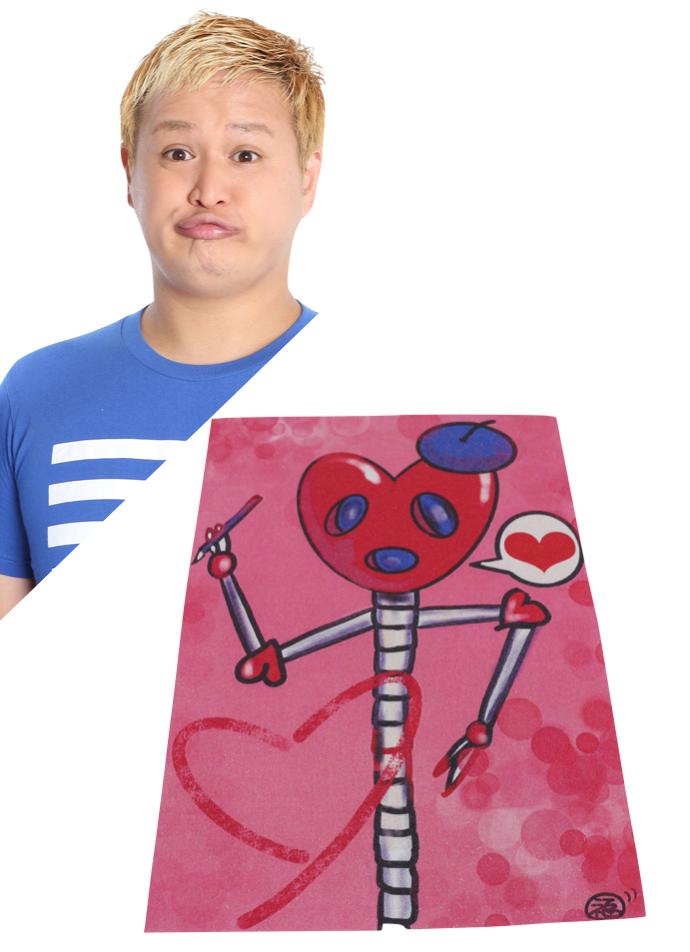 【京都国際映画祭展示の吉本芸人アートバッグ】ガリットチュウ 福島
