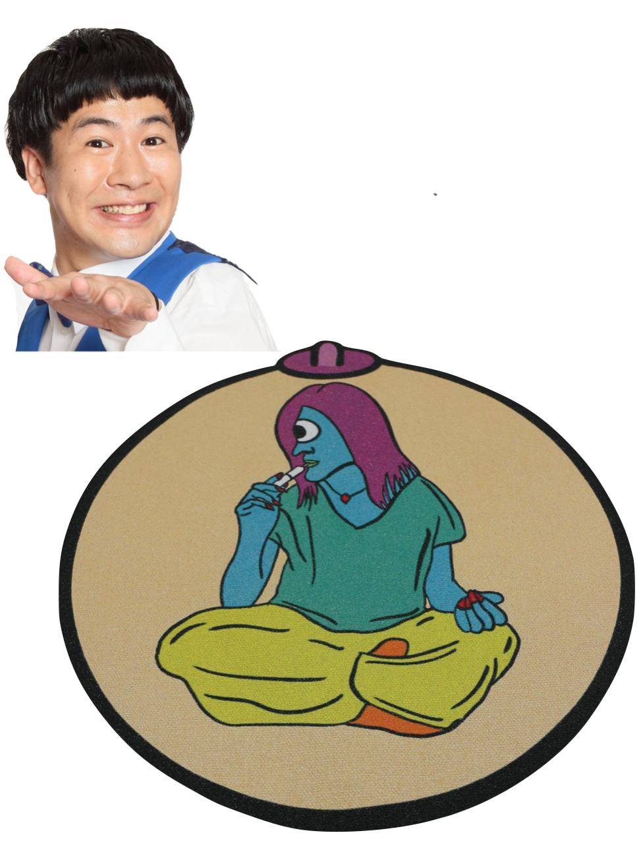 【京都国際映画祭展示の吉本芸人アートバッグ】ラフレクラン きょん「オッパオ」