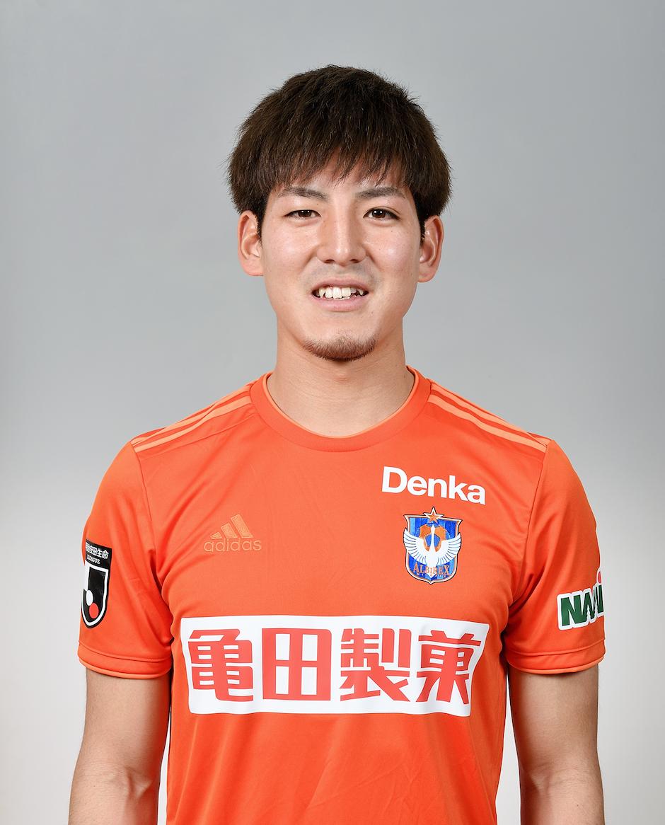 【本人サイン入り公式】アルビレックス新潟 2 新井直人選手2020シーズンユニフォーム(2nd)