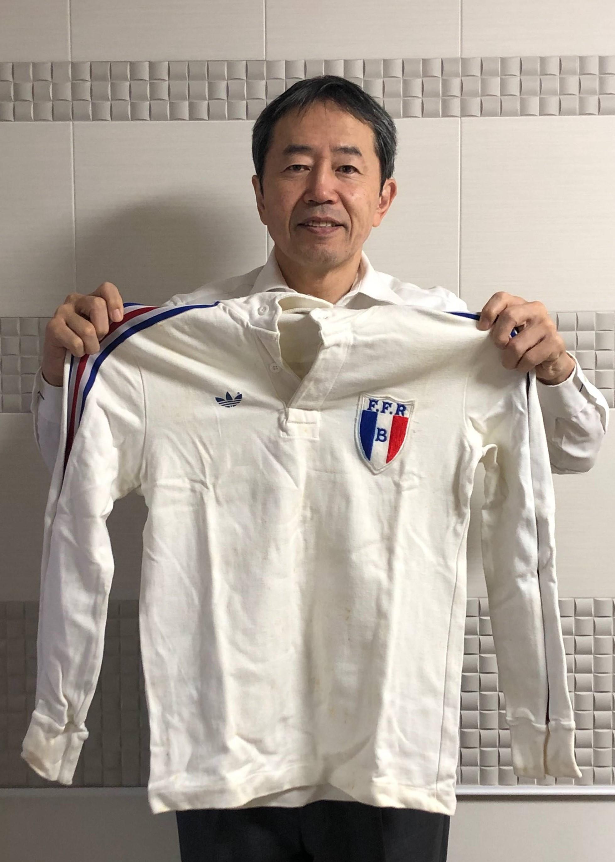 【公式】実使用「全日本フランス遠征の記念品」 松永 敏宏