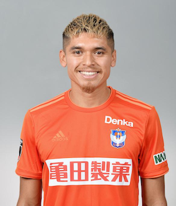 【本人サイン入り公式】アルビレックス新潟 24ロメロ フランク選手2020シーズンユニフォーム(2nd)