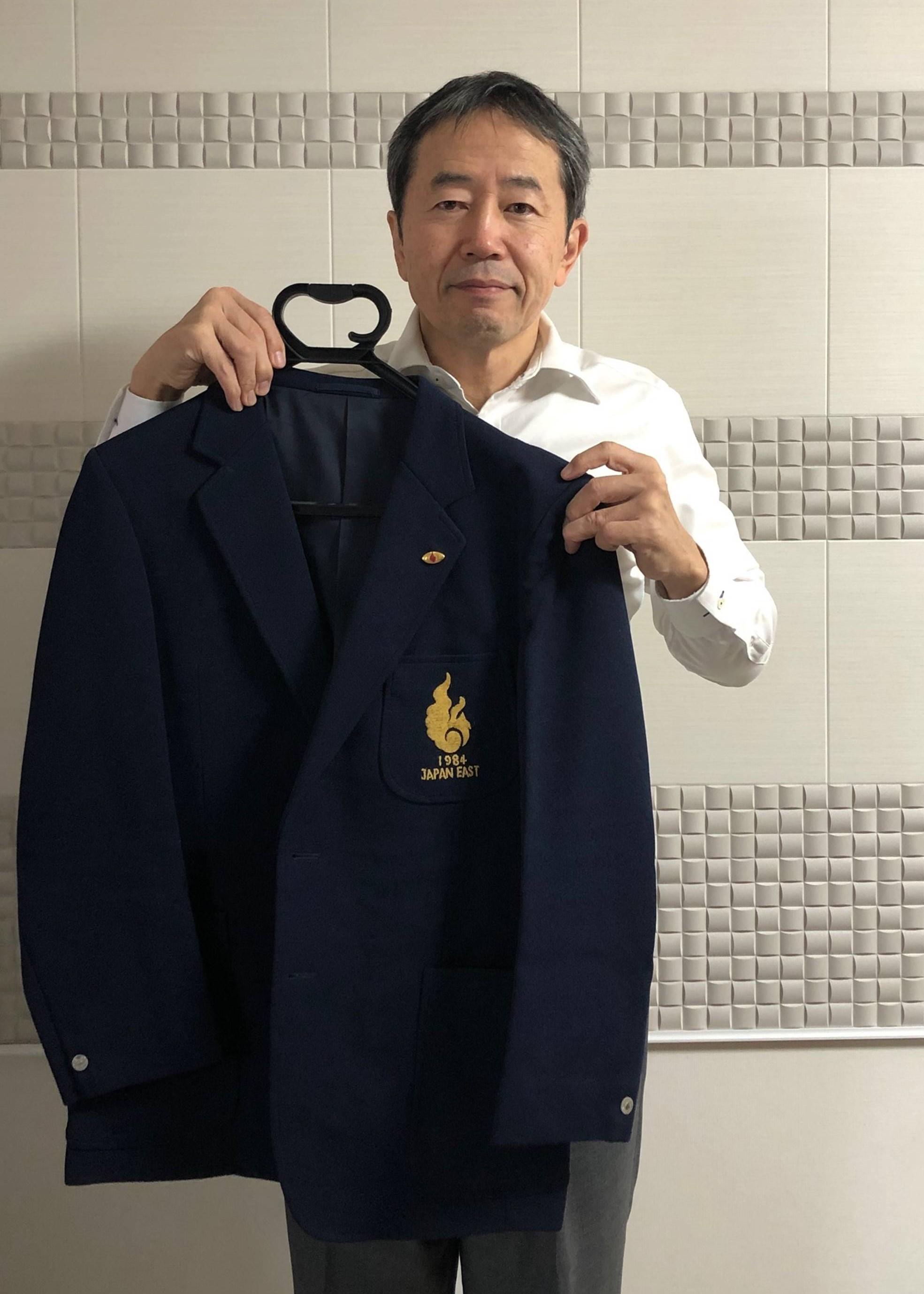 【公式】実使用「関東代表時の歴戦の記念品」 松永 敏宏