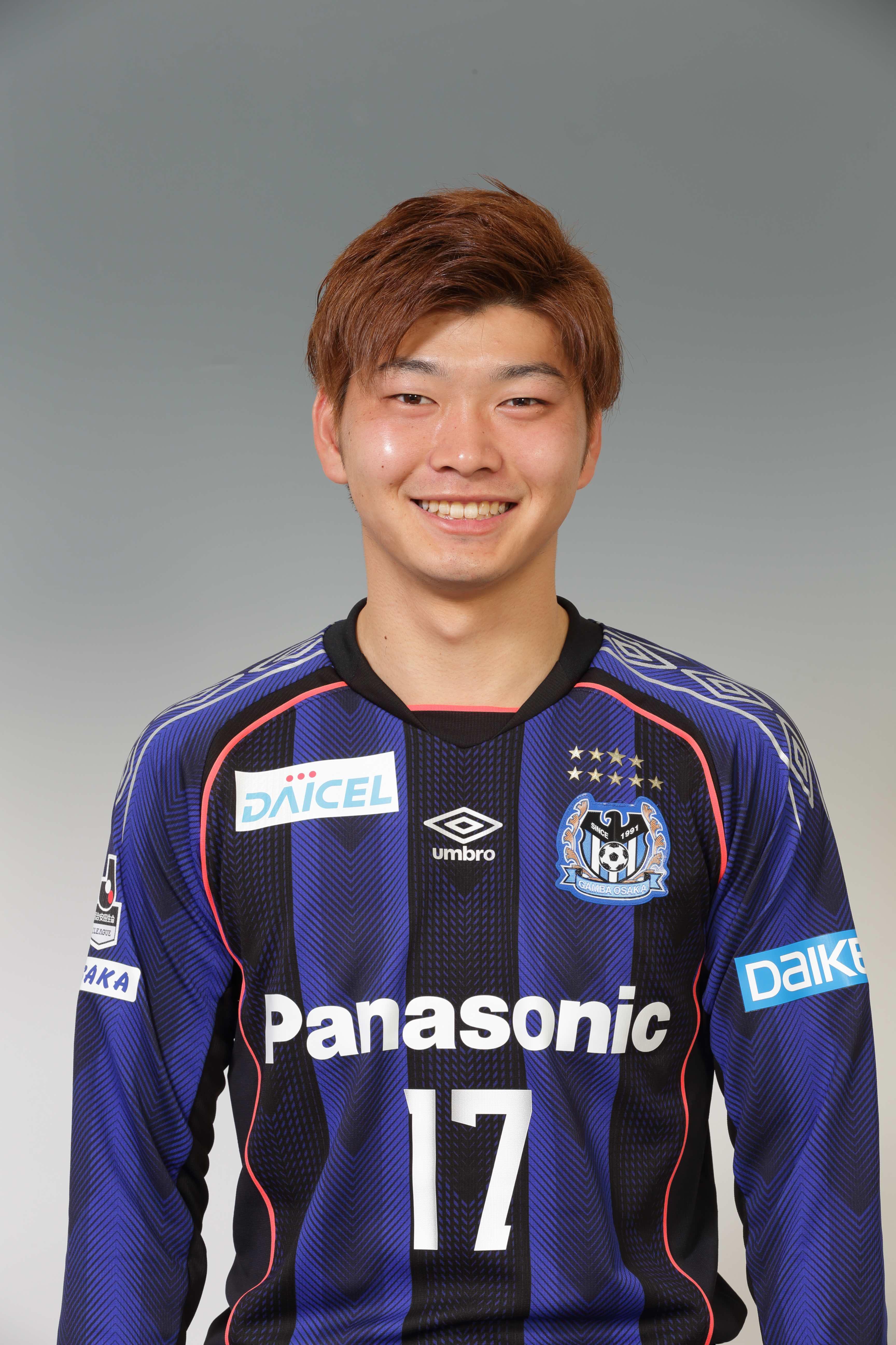 【本人直筆サイン入り公式】ガンバ大阪ユニフォーム2018HOME 市丸瑞希選手