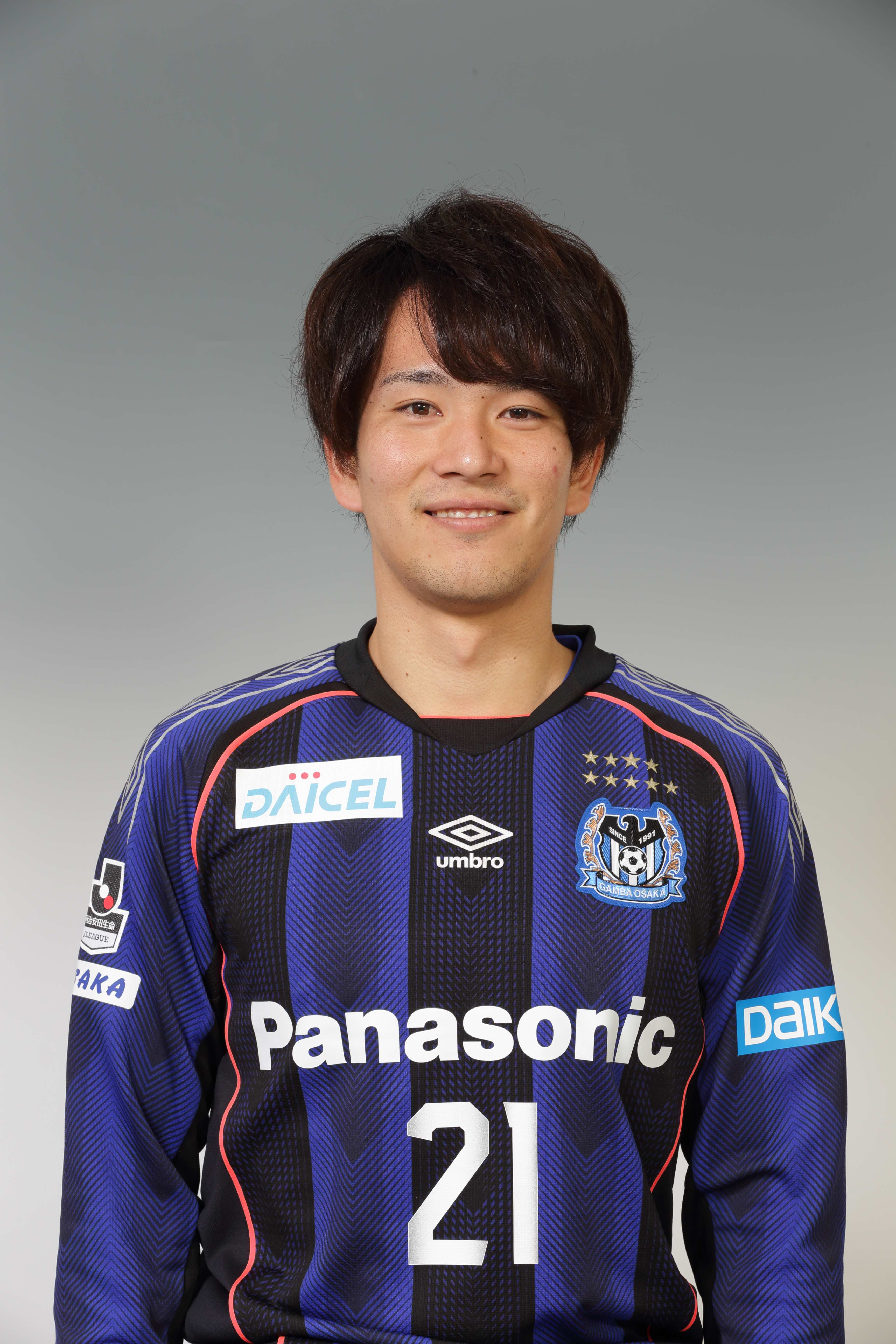 【本人直筆サイン入り公式】ガンバ大阪ユニフォーム2018HOME 矢島慎也選手