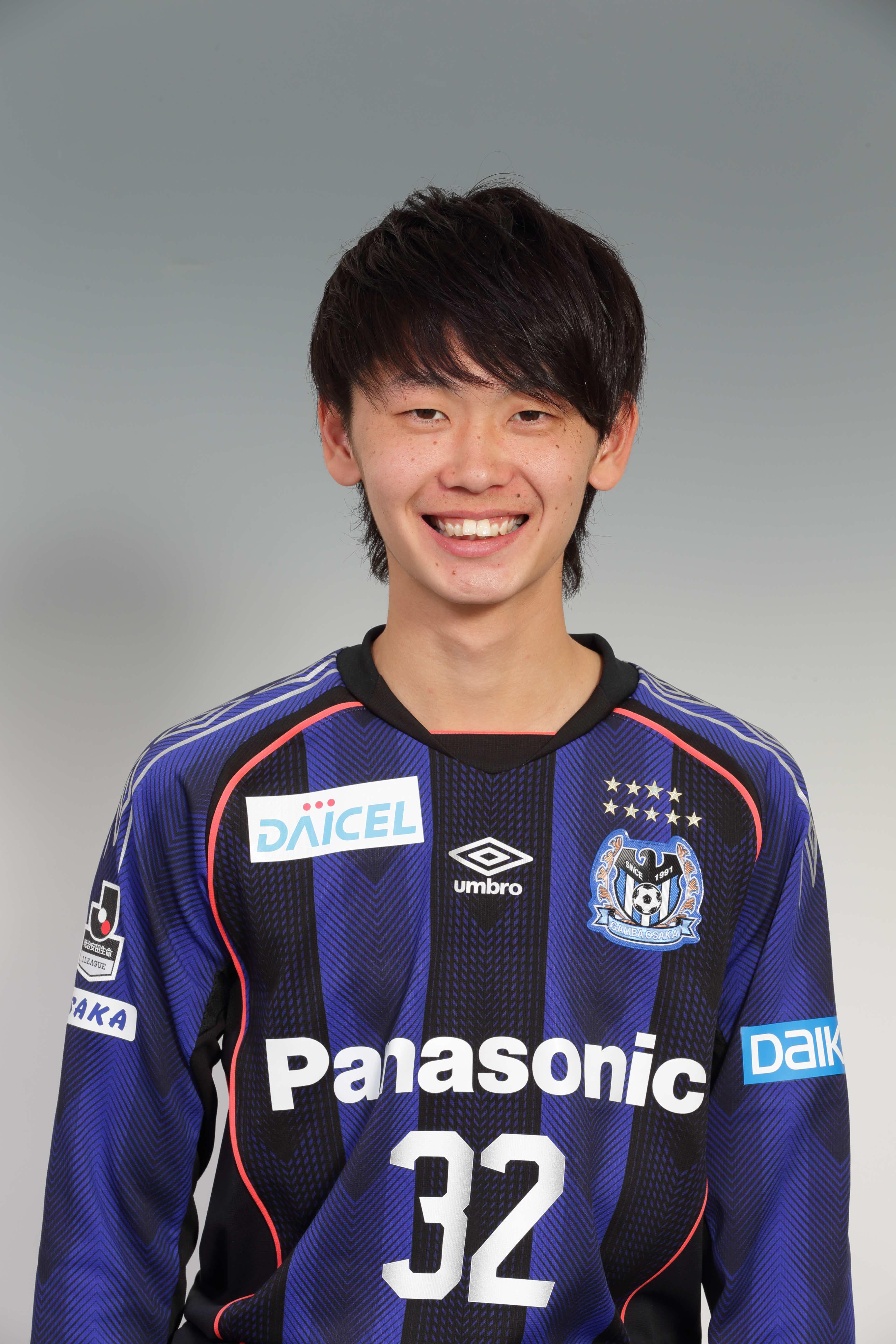 【本人直筆サイン入り公式】ガンバ大阪ユニフォーム2018HOME芝本蓮選手