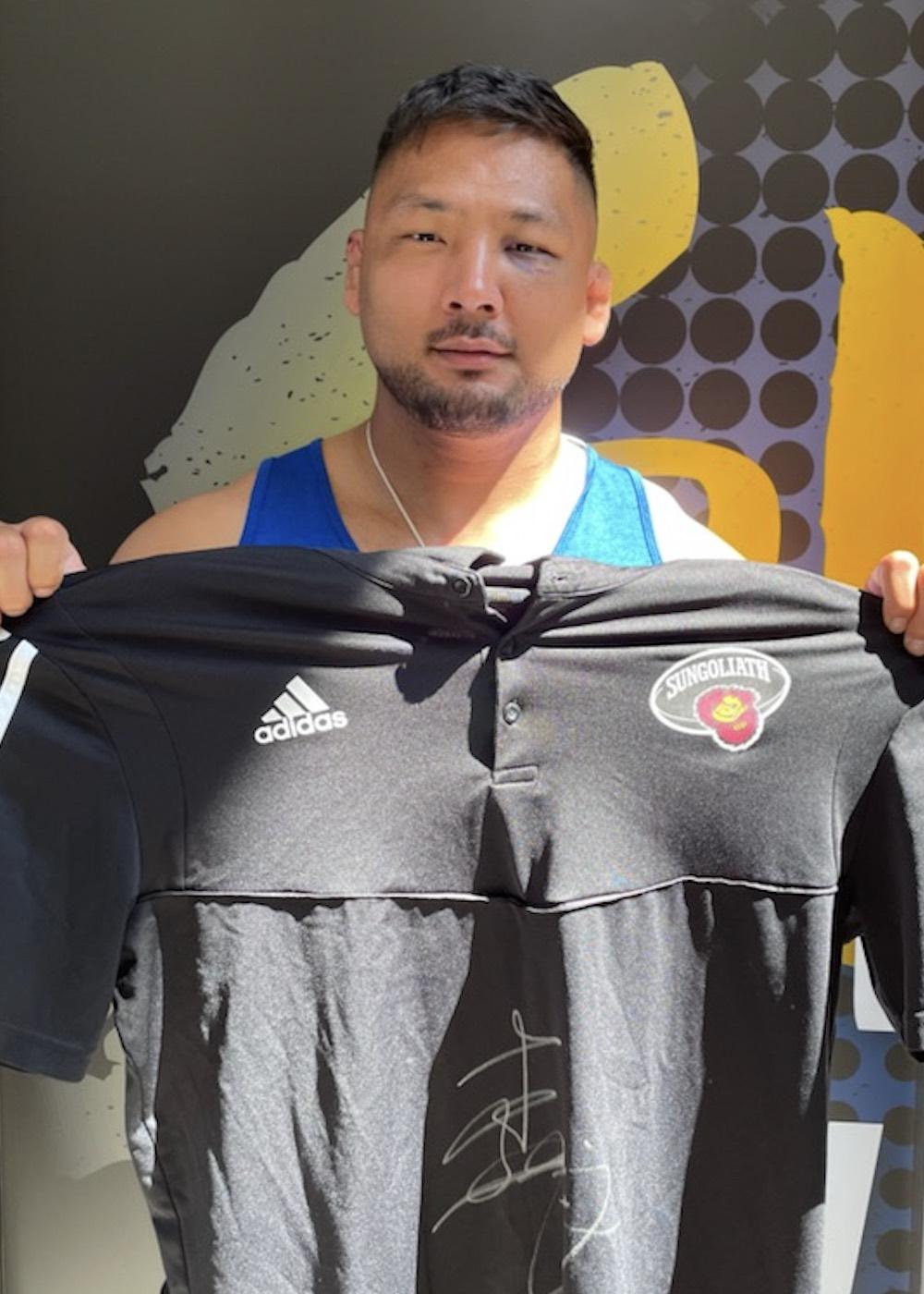 【公式】実使用・選手直筆サイン入「ポロシャツ&トレーニングウェア」森川 由起乙
