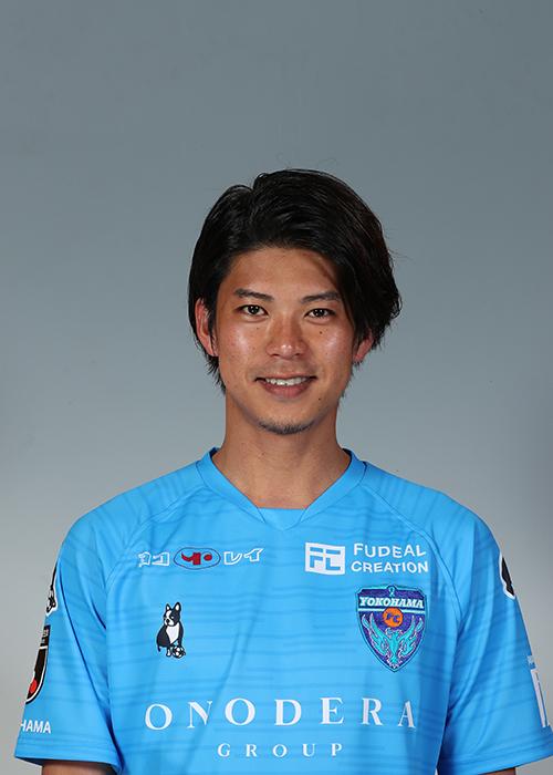 【選手直筆サイン入り着用済公式】横浜FC 2019シーズン2ndユニフォーム    田代真一 選手