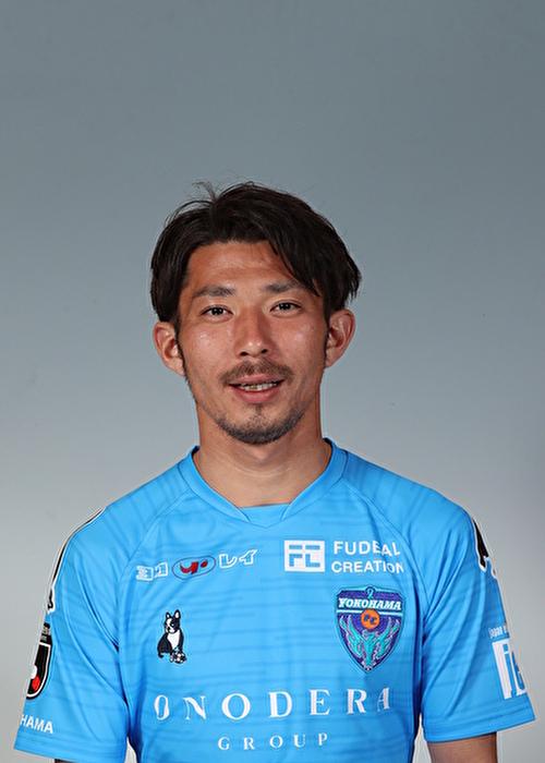 【選手直筆サイン入り着用済公式】横浜FC 2019シーズン2ndユニフォーム    松浦拓弥 選手