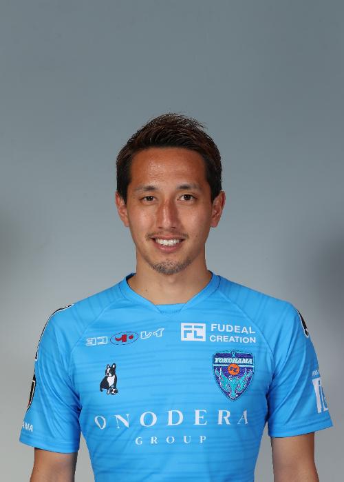 【選手直筆サイン入り着用済公式】横浜FC 2019シーズン2ndユニフォーム    武田英二郎 選手