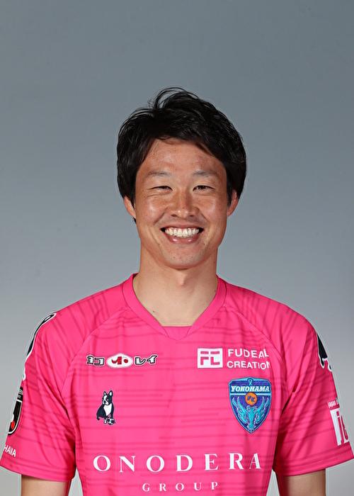 【選手直筆サイン入り着用済公式】横浜FC 2019シーズン2ndユニフォーム    竹重安希彦 選手