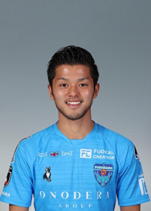 【選手直筆サイン入り着用済公式】横浜FC 2019シーズン2ndユニフォーム    草野侑己 選手
