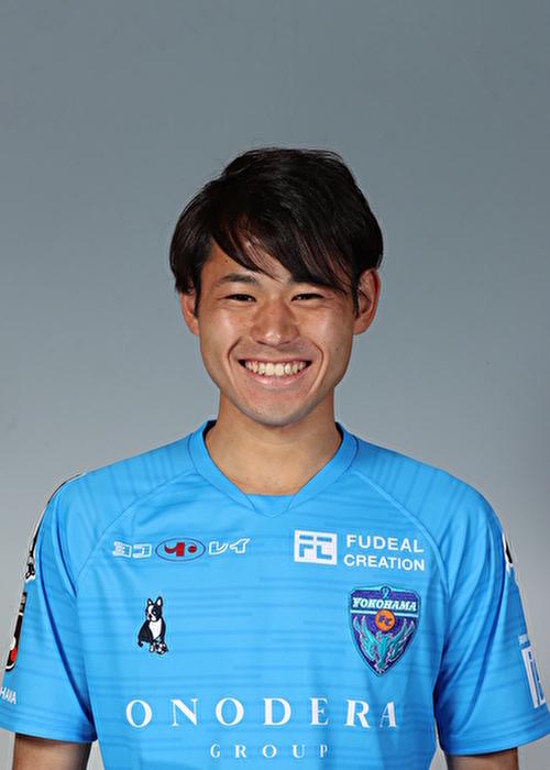 【選手直筆サイン入り着用済公式】横浜FC 2019シーズン2ndユニフォーム    袴田裕太郎 選手