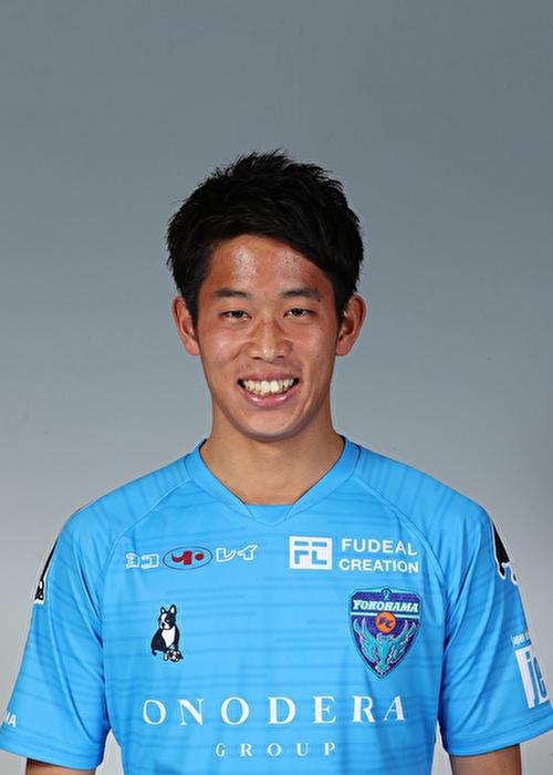 【選手直筆サイン入り着用済公式】横浜FC 2019シーズン2ndユニフォーム    中山克広 選手