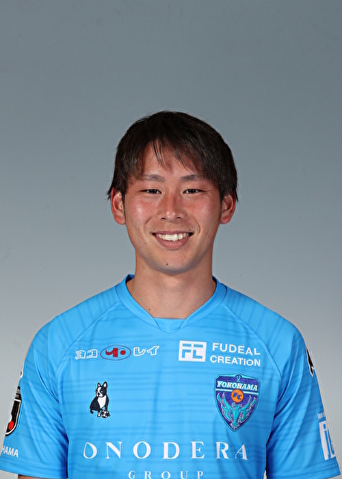 【選手直筆サイン入り着用済公式】横浜FC 2019シーズン2ndユニフォーム    川﨑裕大 選手