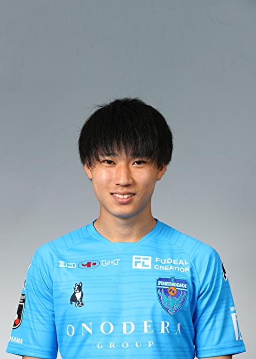 【選手直筆サイン入り着用済公式】横浜FC 2019シーズン2ndユニフォーム    松尾佑介 選手