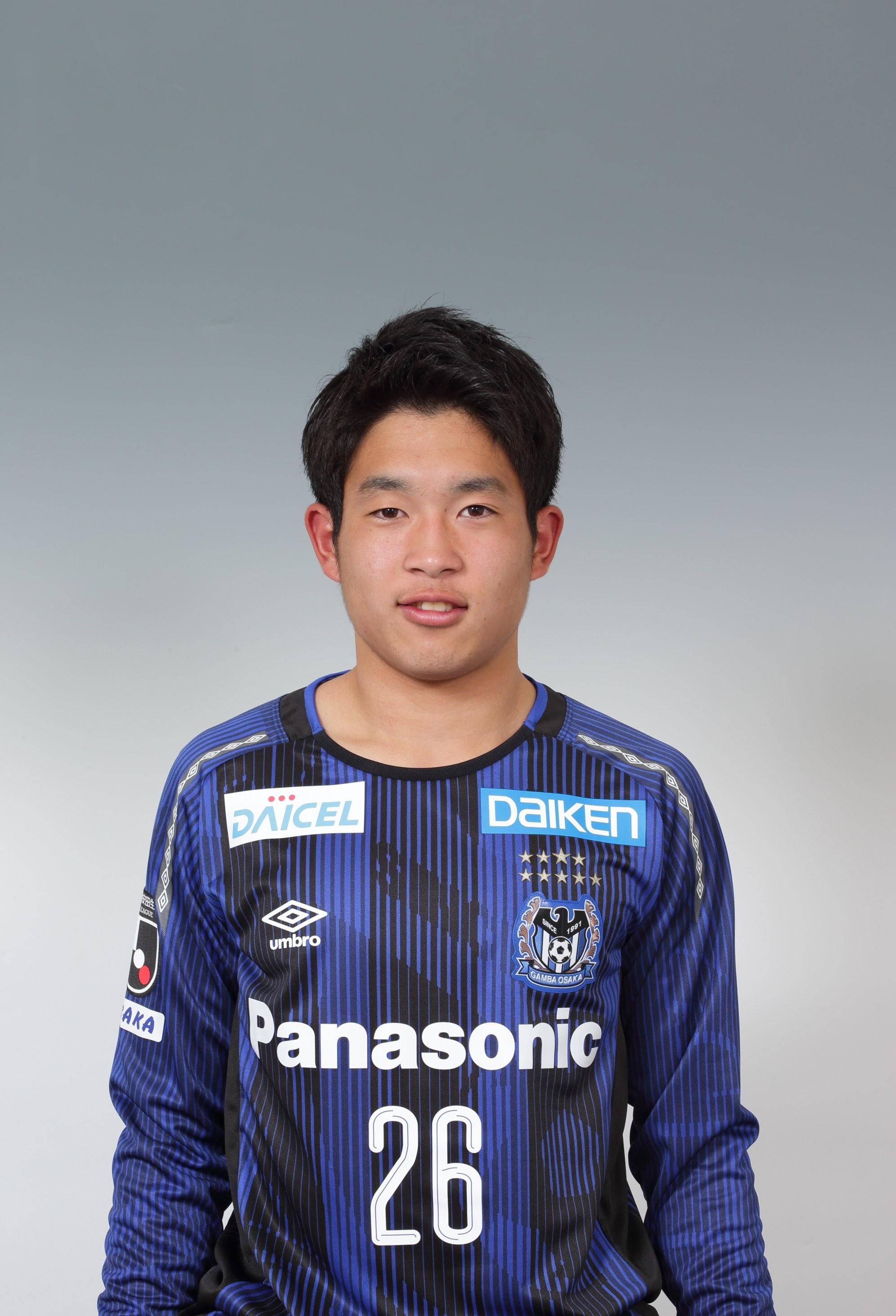 【本人直筆サイン入り公式】ガンバ大阪ユニフォーム2019HOME 奥野耕平  選手