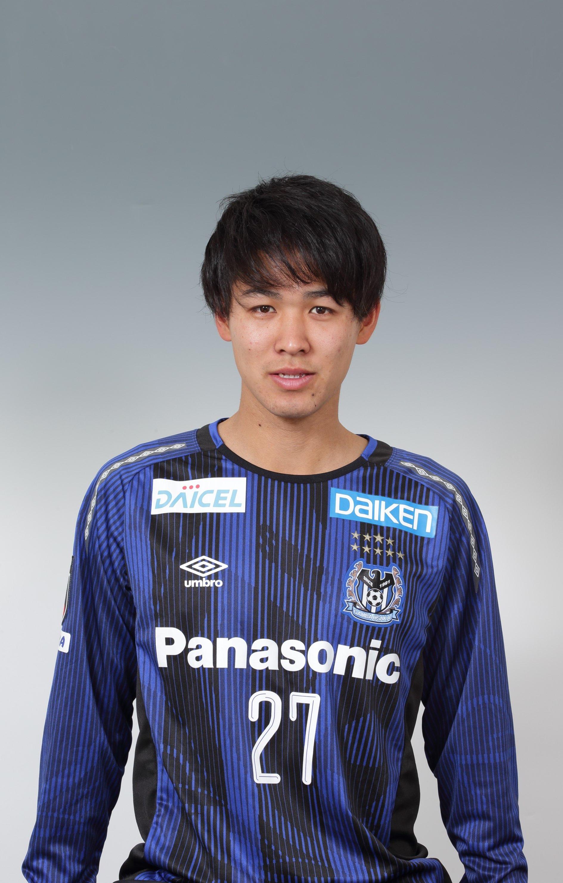 【本人直筆サイン入り公式】ガンバ大阪ユニフォーム2019HOME 高尾瑠 選手