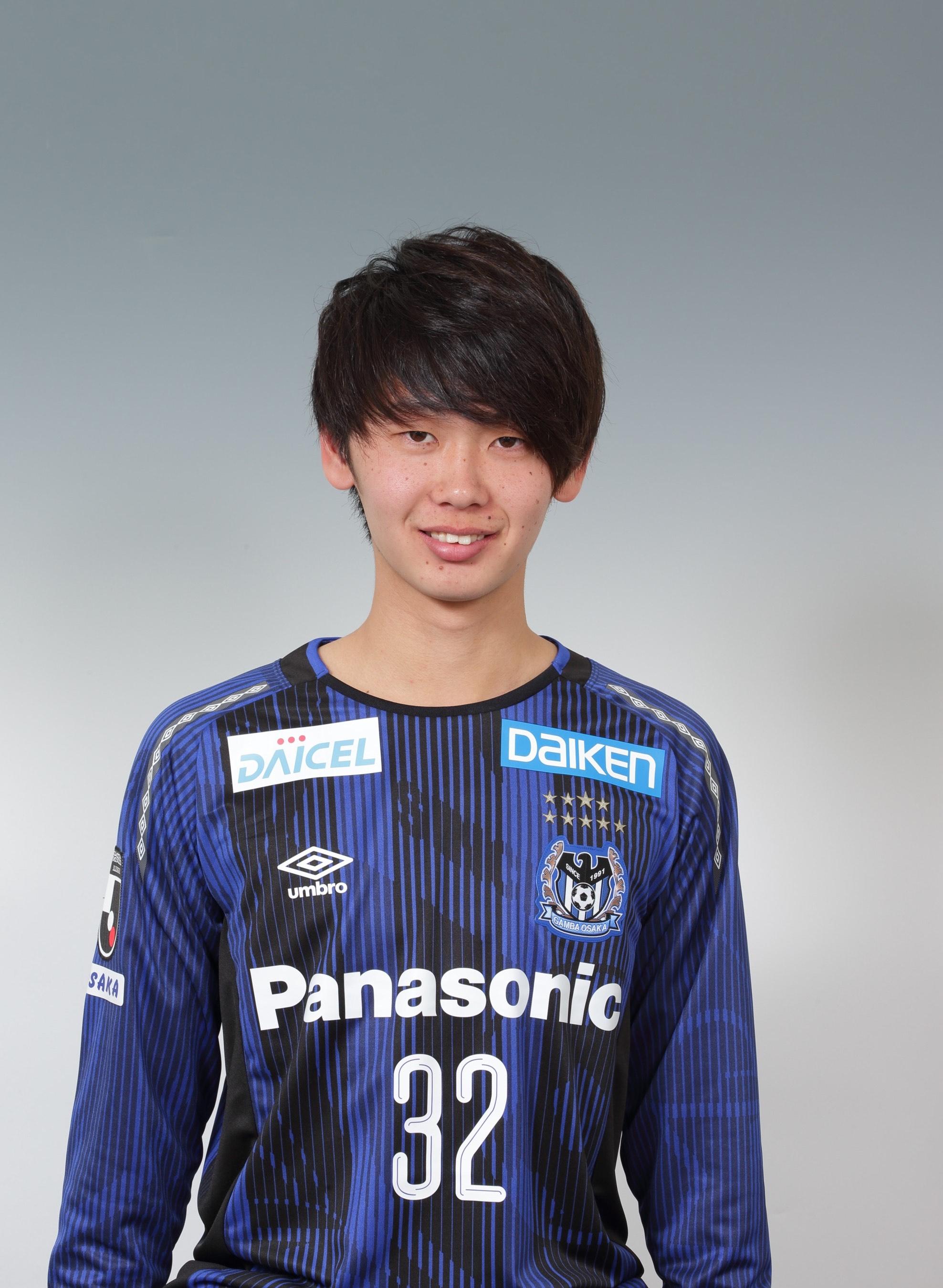 【本人直筆サイン入り公式】ガンバ大阪ユニフォーム2019HOME 芝本蓮 選手