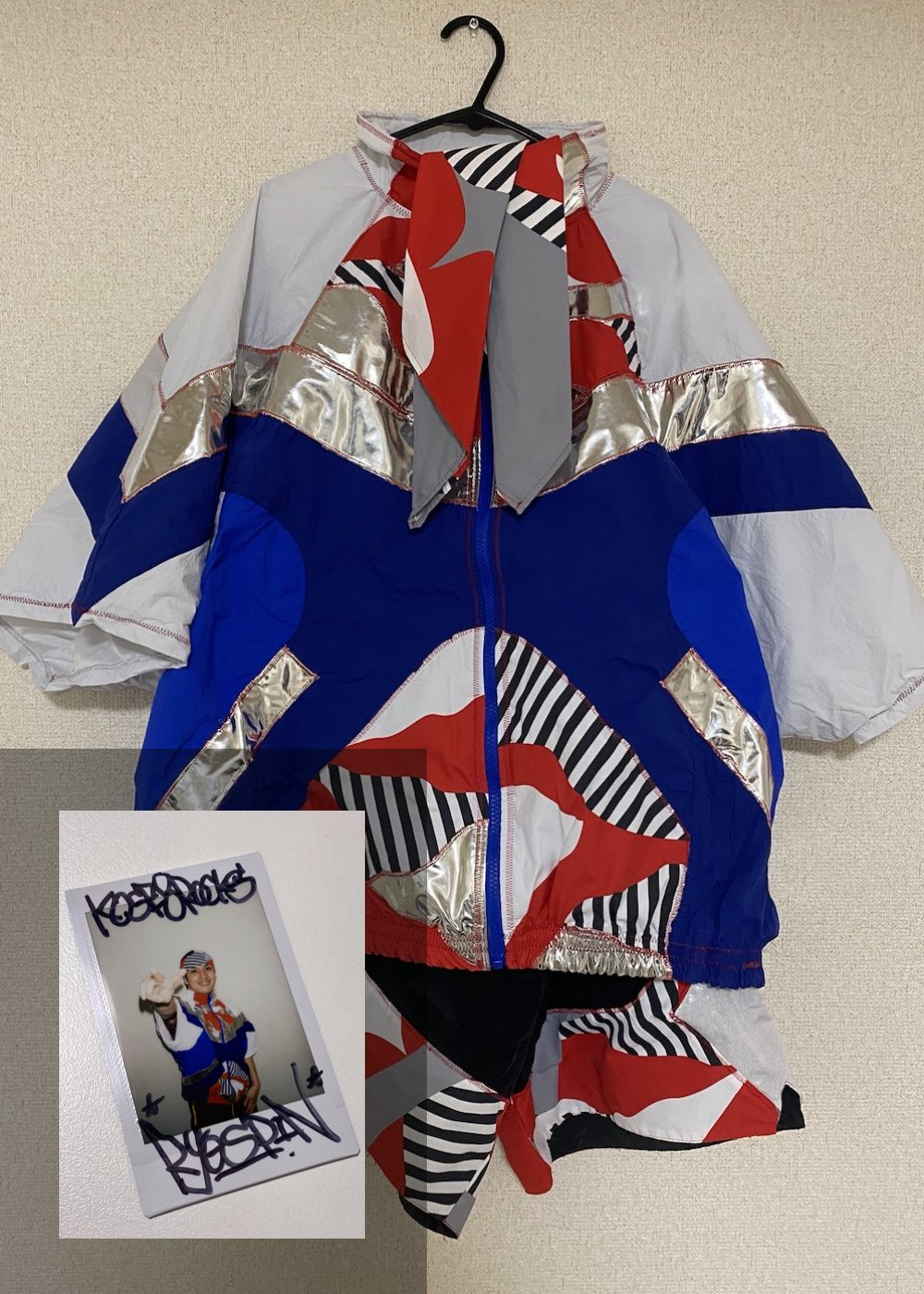 【Ryo-spin】「Semi Final 2nd Match 衣装(上下)+サイン入りチェキ」