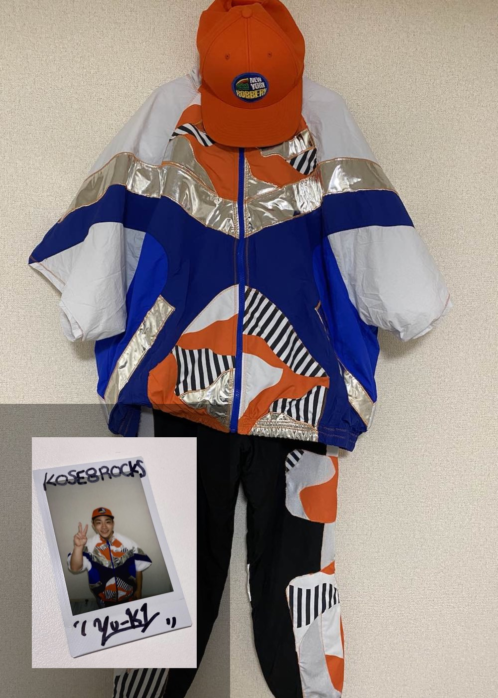 【YU-KI】「Semi Final 2nd Match 衣装(上下)+キャップ+サイン入りチェキ」