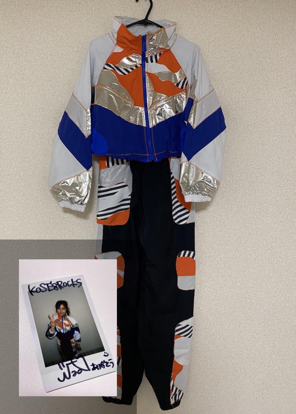 【Nao】「Semi Final 2nd Match 衣装(上下)+サイン入りチェキ」