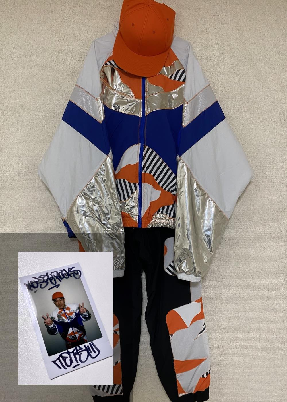 【TETSU】「Semi Final 2nd Match 衣装(上下)+キャップ+サイン入りチェキ」
