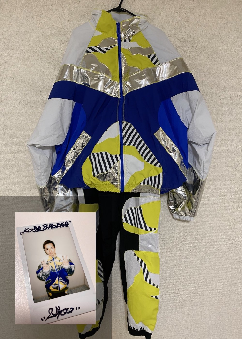 【2GOO】「Semi Final 2nd Match 衣装(上下)+サイン入りチェキ」