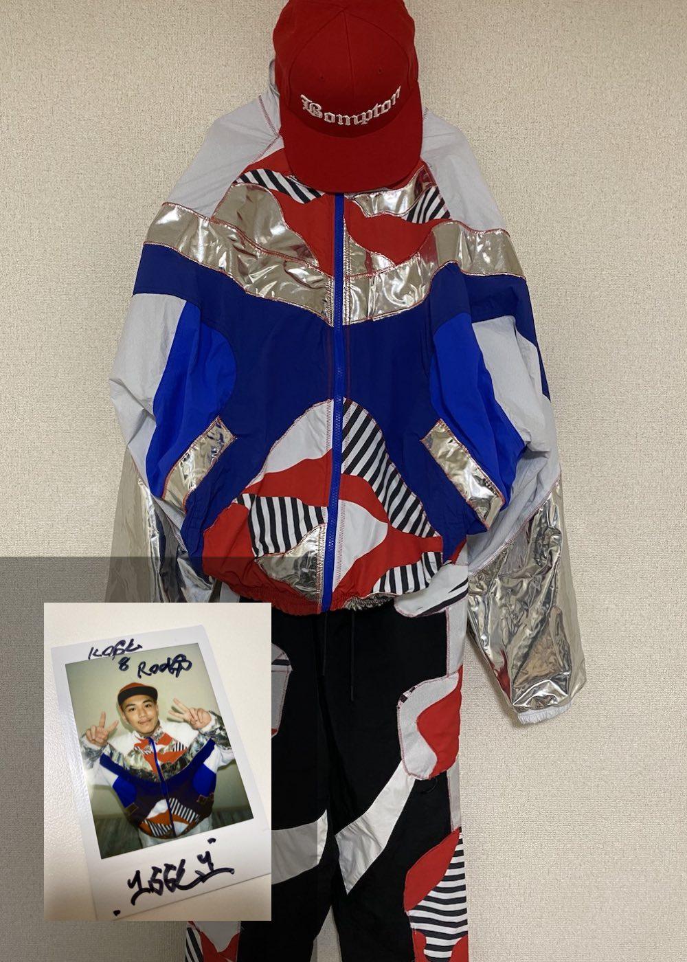 【ISSEI】「Semi Final 2nd Match 衣装(上下)+キャップ+サイン入りチェキ」
