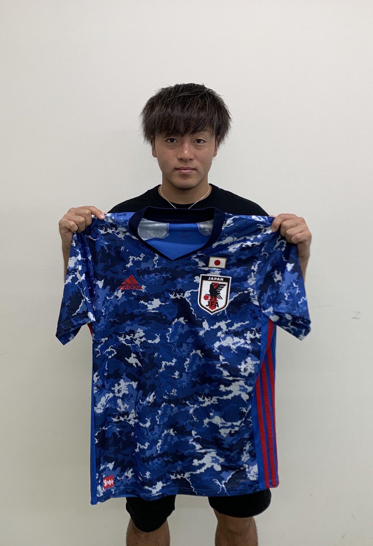 【直筆サイン入り公式】U-23日本代表 相馬 勇紀 選手(名古屋グランパス)