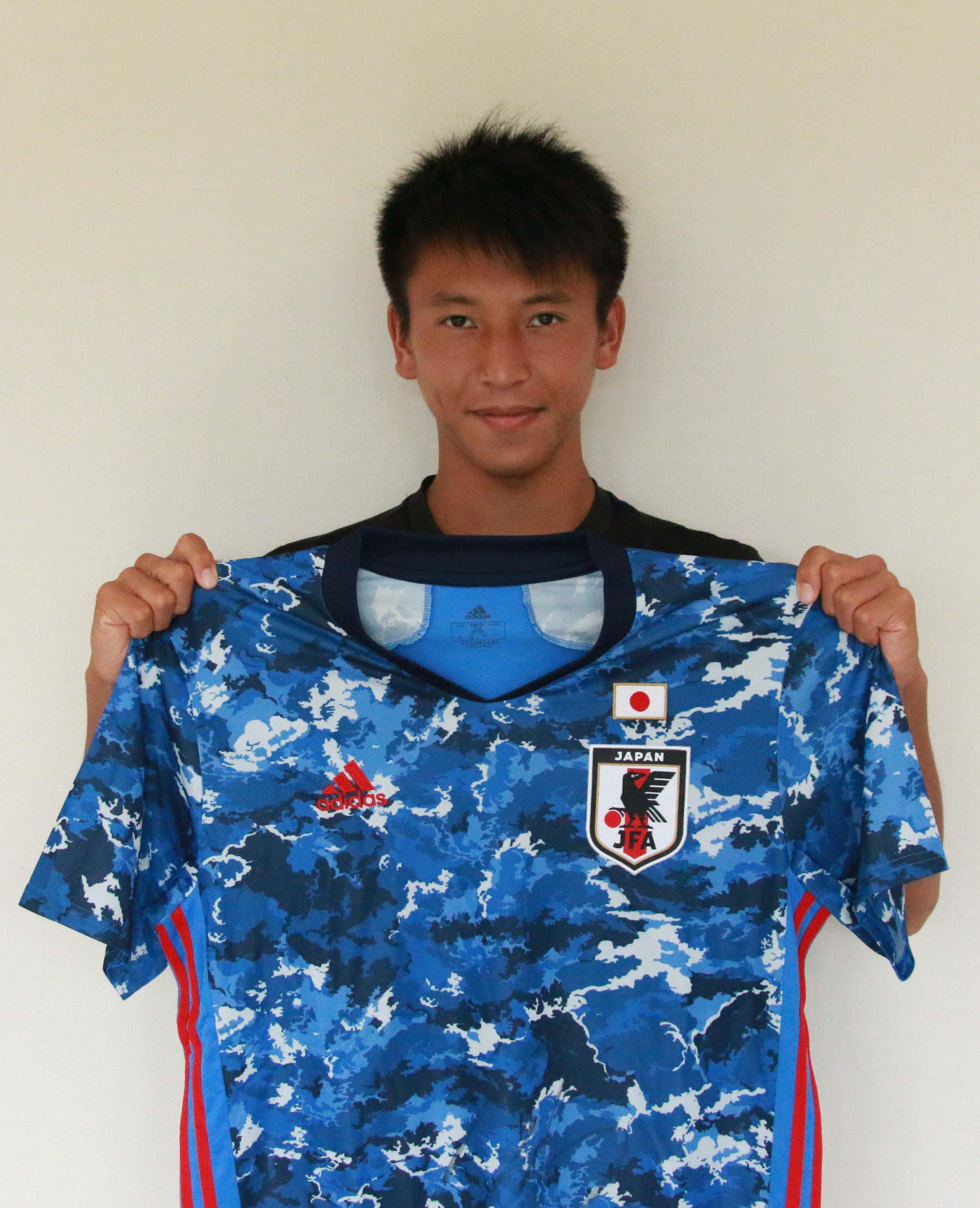 【直筆サイン入り公式】U-23日本代表 松岡 大起 選手(サガン鳥栖)