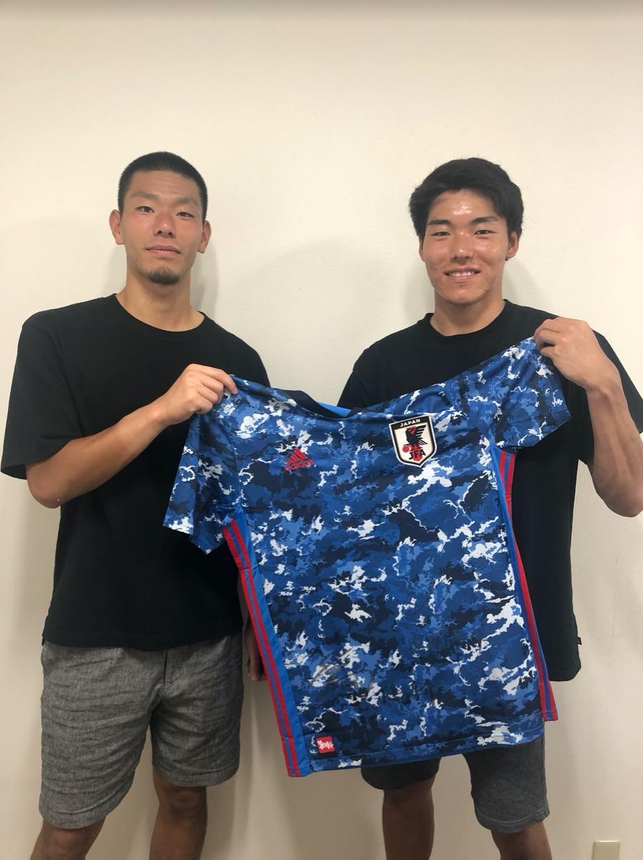 【直筆サイン入り公式】U-23日本代表 小島 亨介 選手・阿部 航斗 選手(アルビレックス新潟)