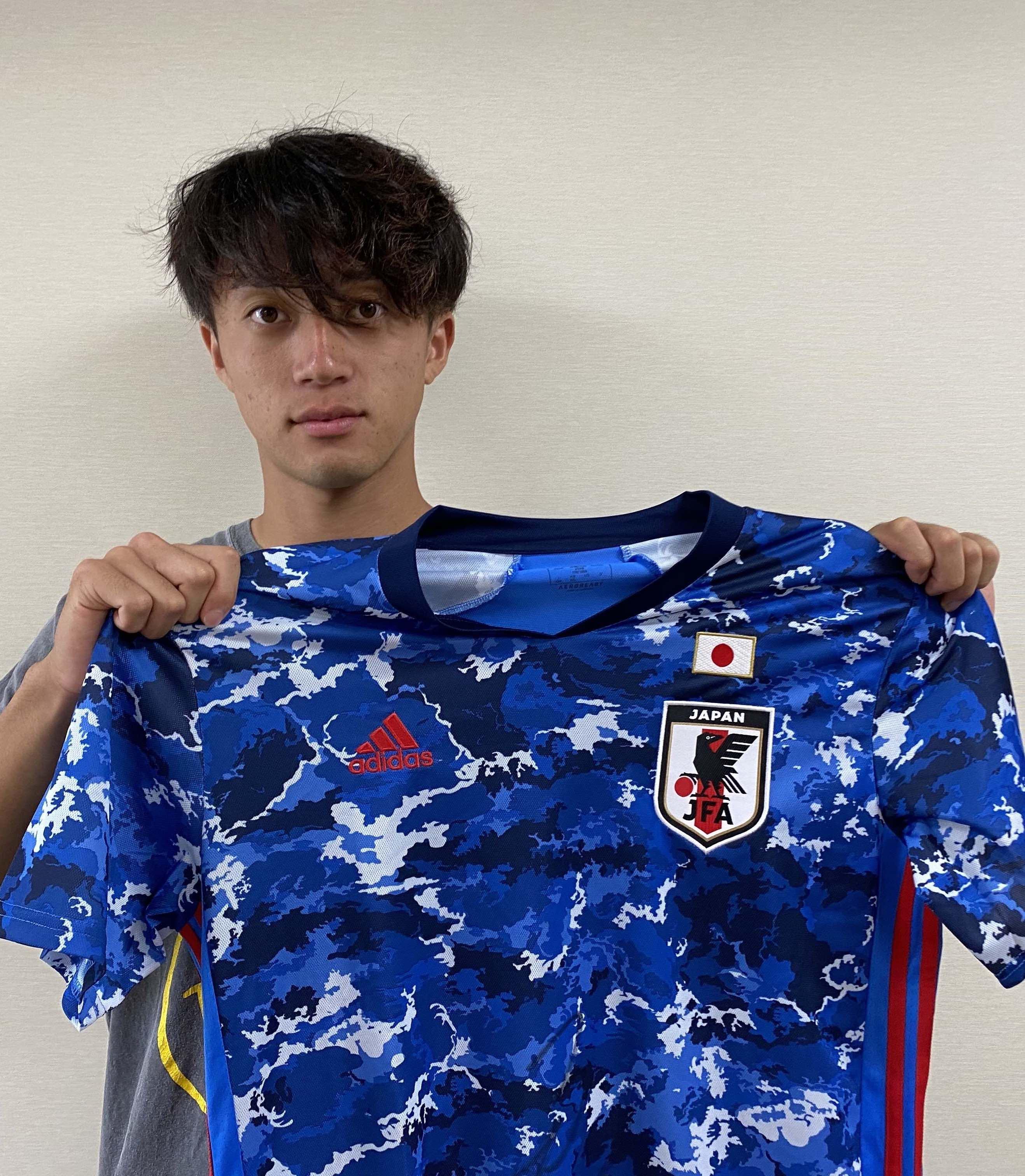 【直筆サイン入り公式】U-23日本代表 岡野 洵 選手(ジェフユナイテッド千葉)