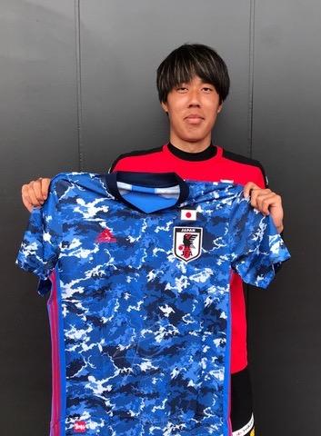 【直筆サイン入り公式】U-23日本代表 田中 駿汰 選手(北海道コンサドーレ札幌)