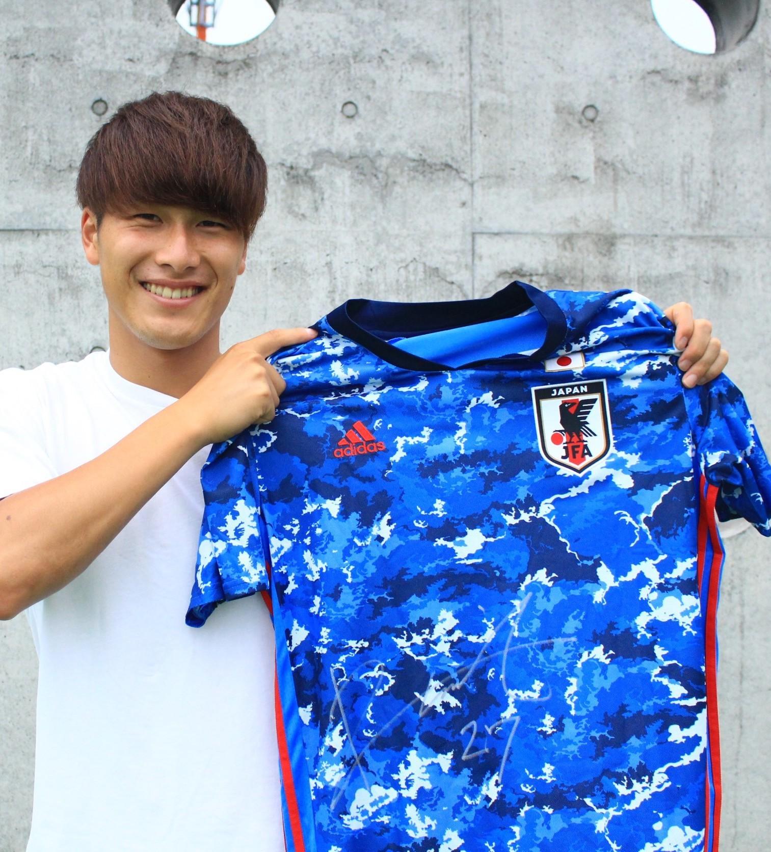 【直筆サイン入り公式】U-23日本代表 橋岡 大樹 選手(浦和レッズ)