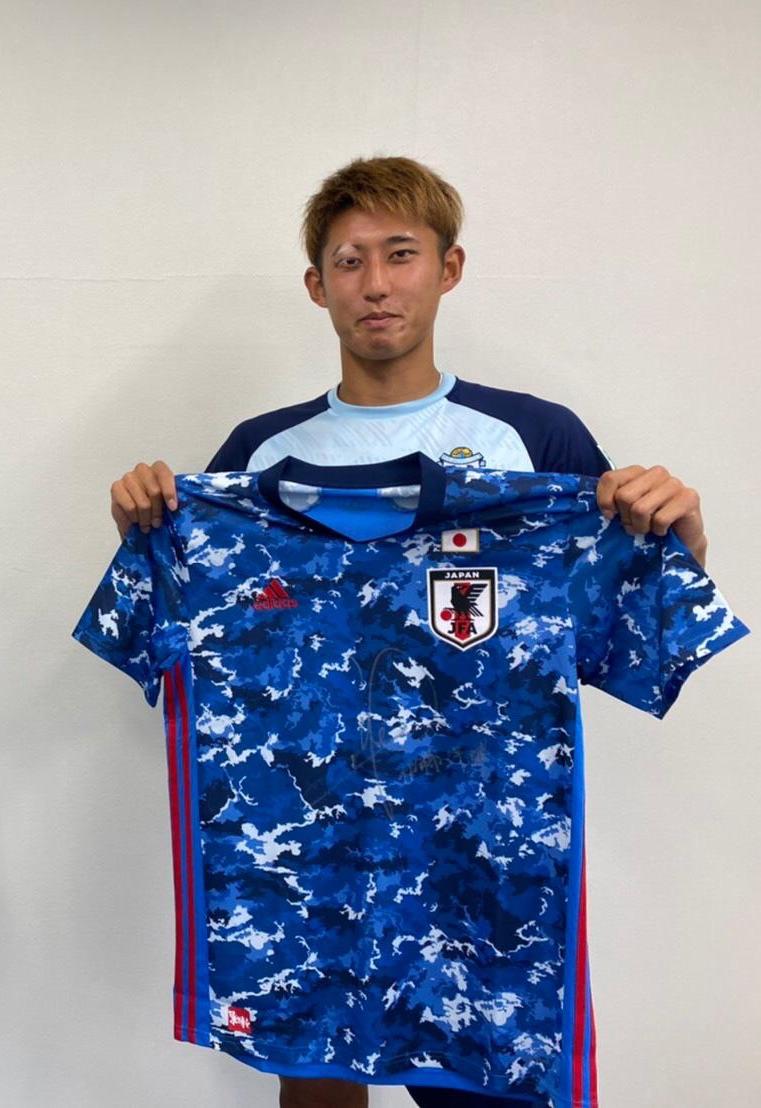 【直筆サイン入り公式】U-23日本代表 伊藤 洋輝 選手(ジュビロ磐田)