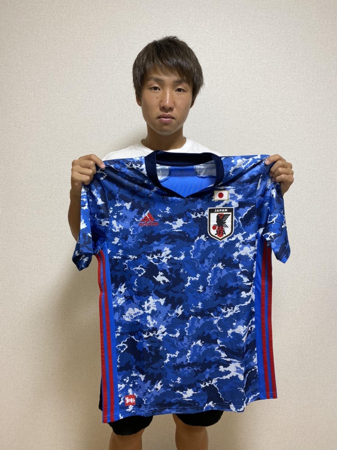 【直筆サイン入り公式】U-23日本代表 坂井 大将 選手(ガイナーレ鳥取)