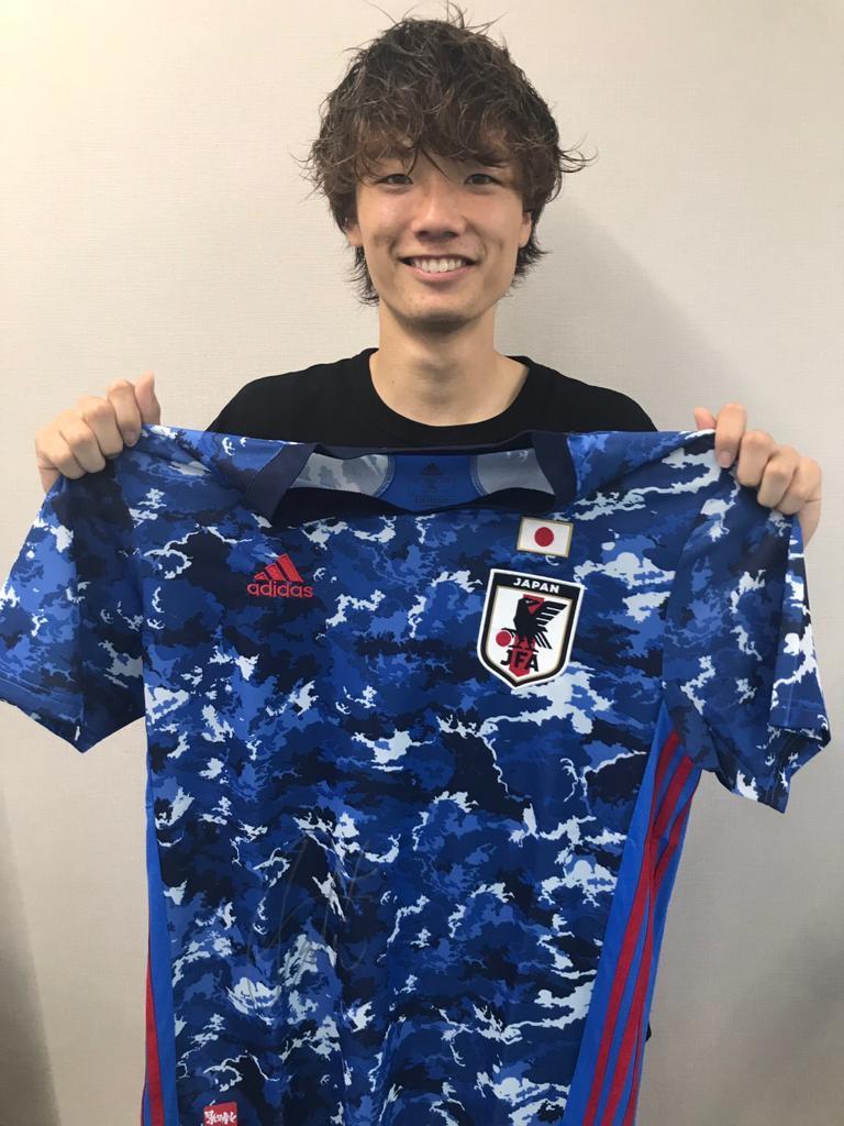 【直筆サイン入り公式】U-23日本代表 板倉 滉 選手(FCフローニンゲン)