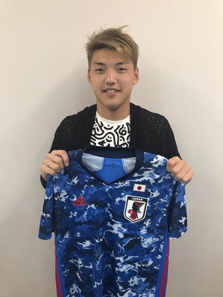 【直筆サイン入り公式】U-23日本代表 堂安 律 選手(PSVアイントホーフェン)