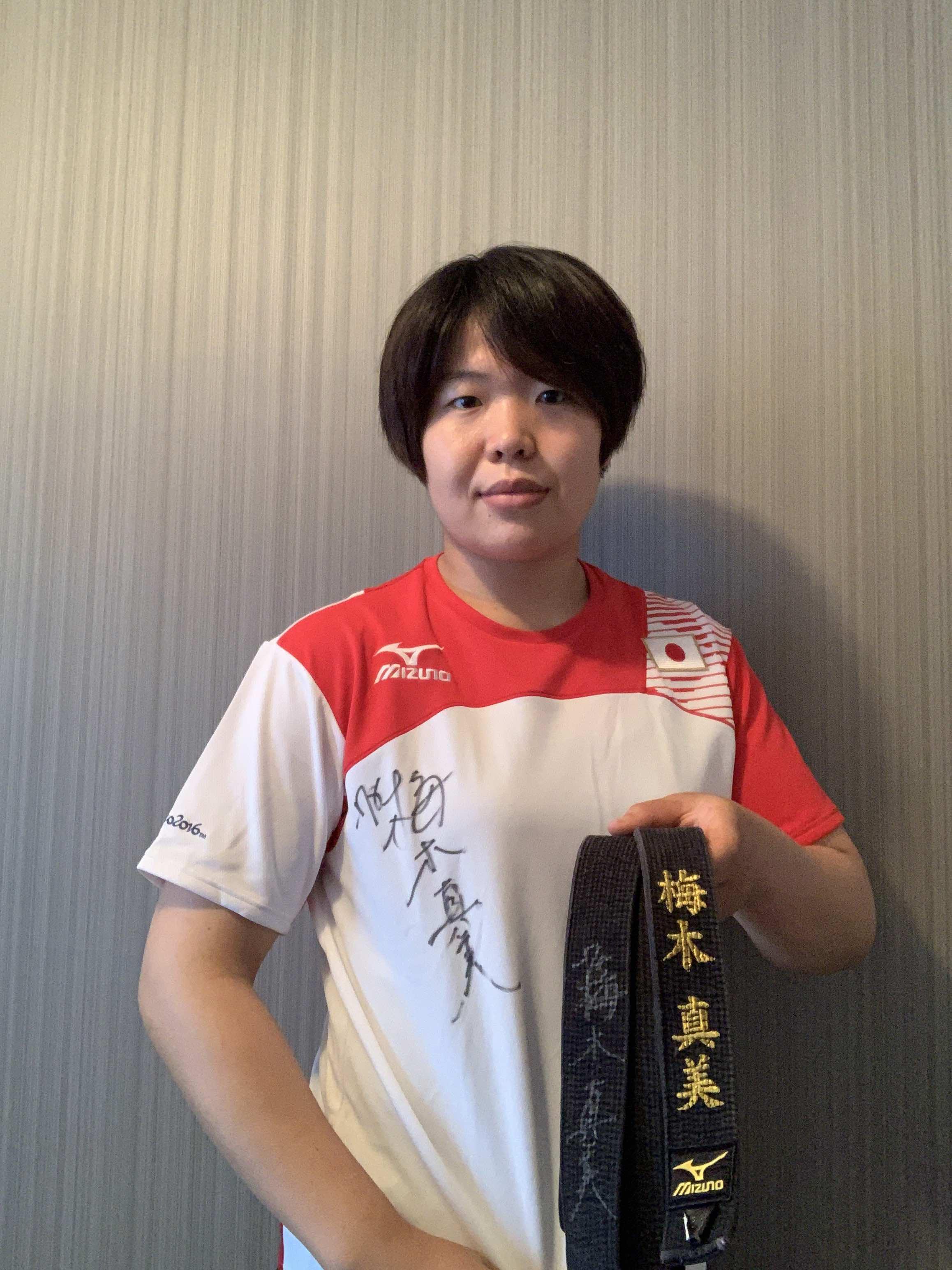【全柔連公式】梅木 真美 選手