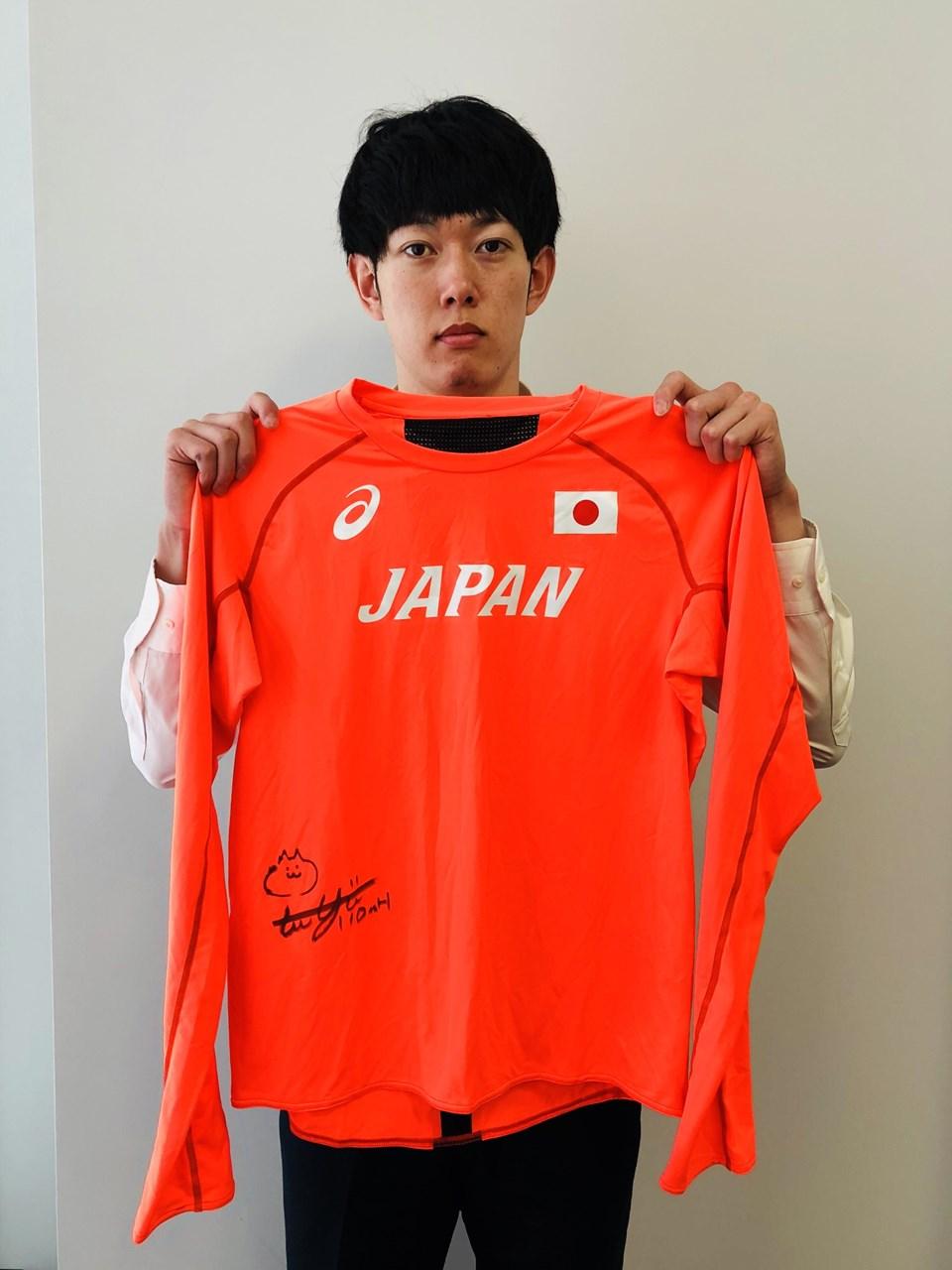 【日本陸連公式】高山 峻野 選手(ロンT)