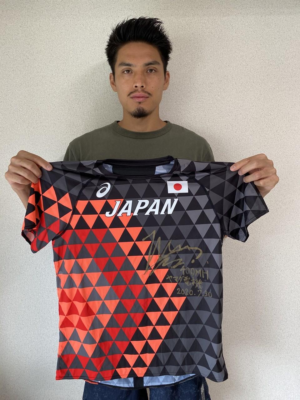 【日本陸連公式】安部 孝駿 選手 (Tシャツ)