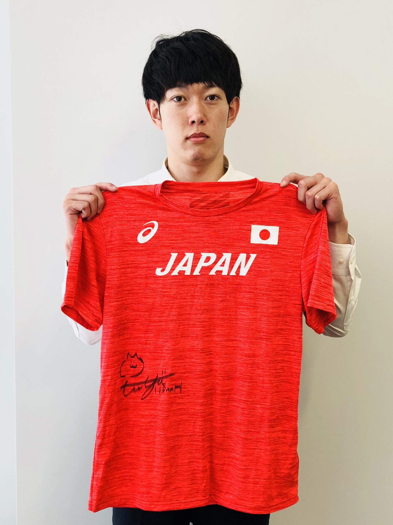 【日本陸連公式】 高山 峻野 選手(Tシャツ)