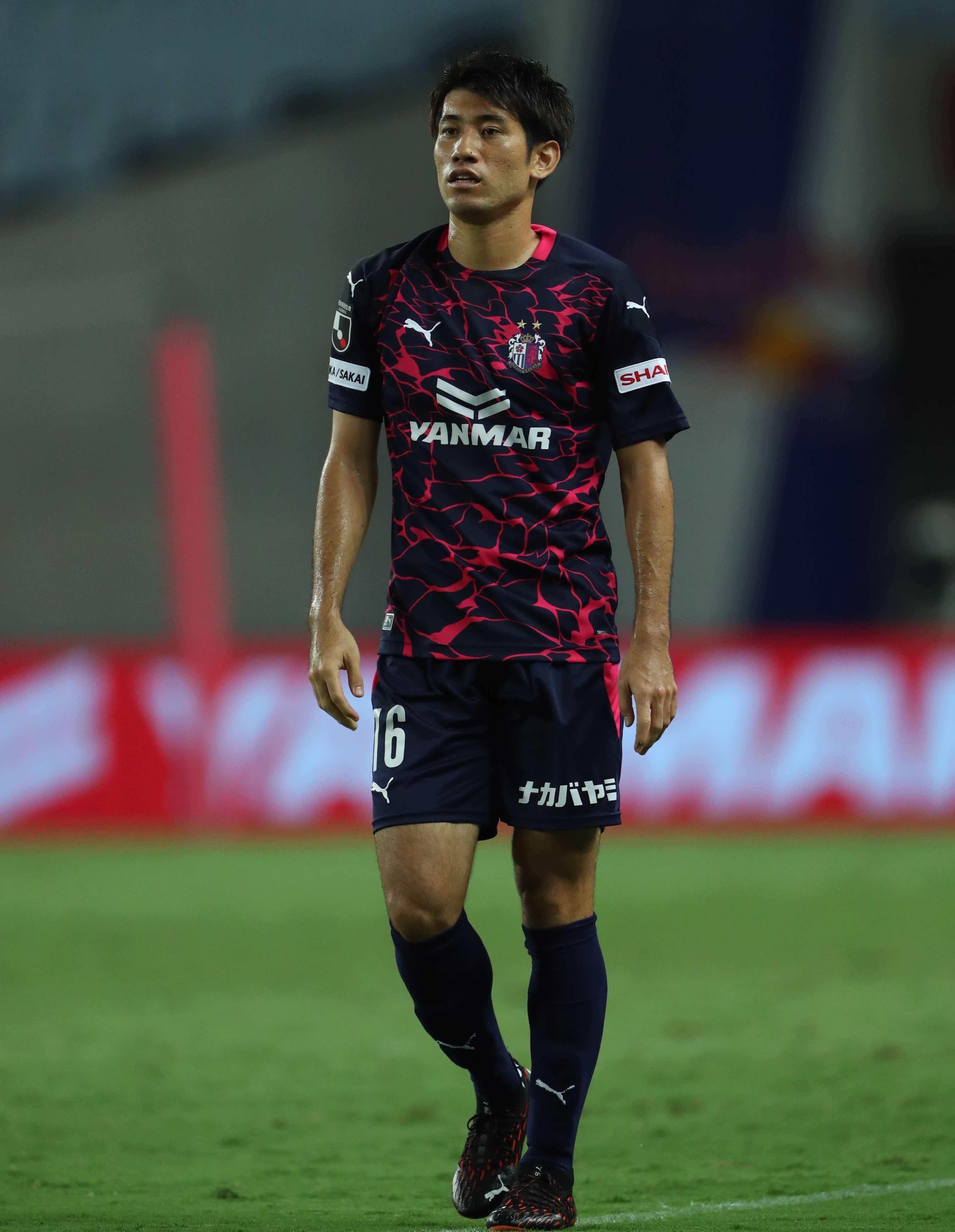 【本人直筆サイン入り公式】セレッソ大阪2020限定ユニフォーム 16 片山瑛一 選手
