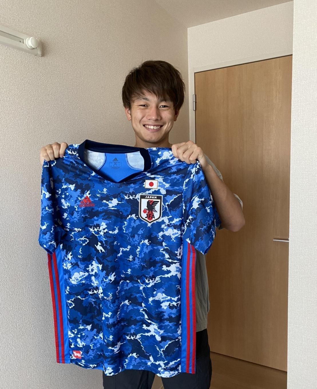 【直筆サイン入り公式】U-23日本代表 上田 綺世 選手(鹿島アントラーズ)