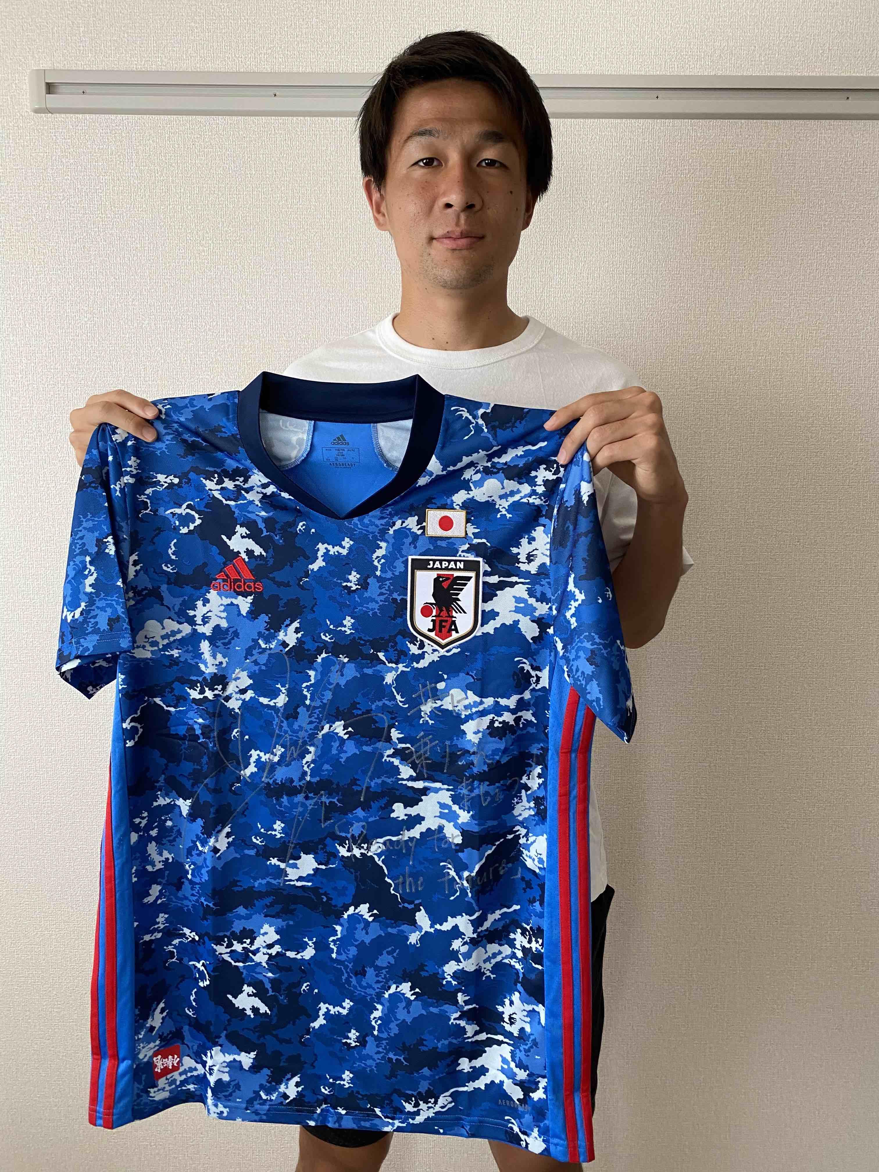 【直筆サイン入り公式】U-23日本代表 杉岡 大暉 選手(鹿島アントラーズ)