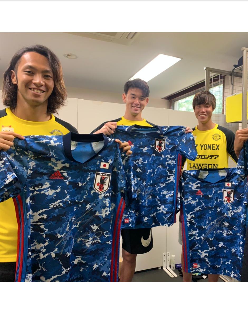 【直筆サイン入り公式】U-23日本代表 滝本 晴彦 選手(柏レイソル)
