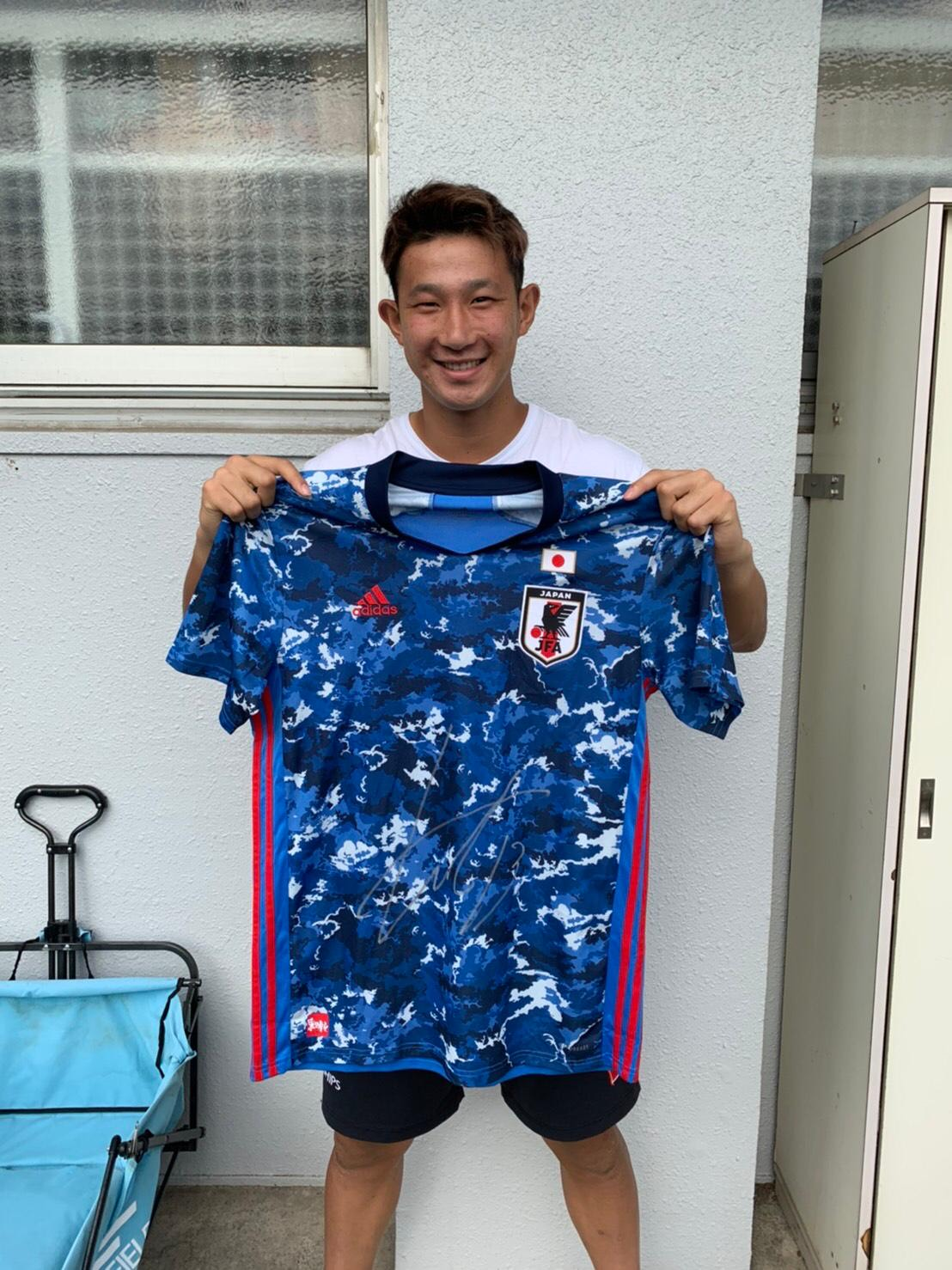 【直筆サイン入り公式】U-23日本代表 波多野 豪 選手(FC東京)