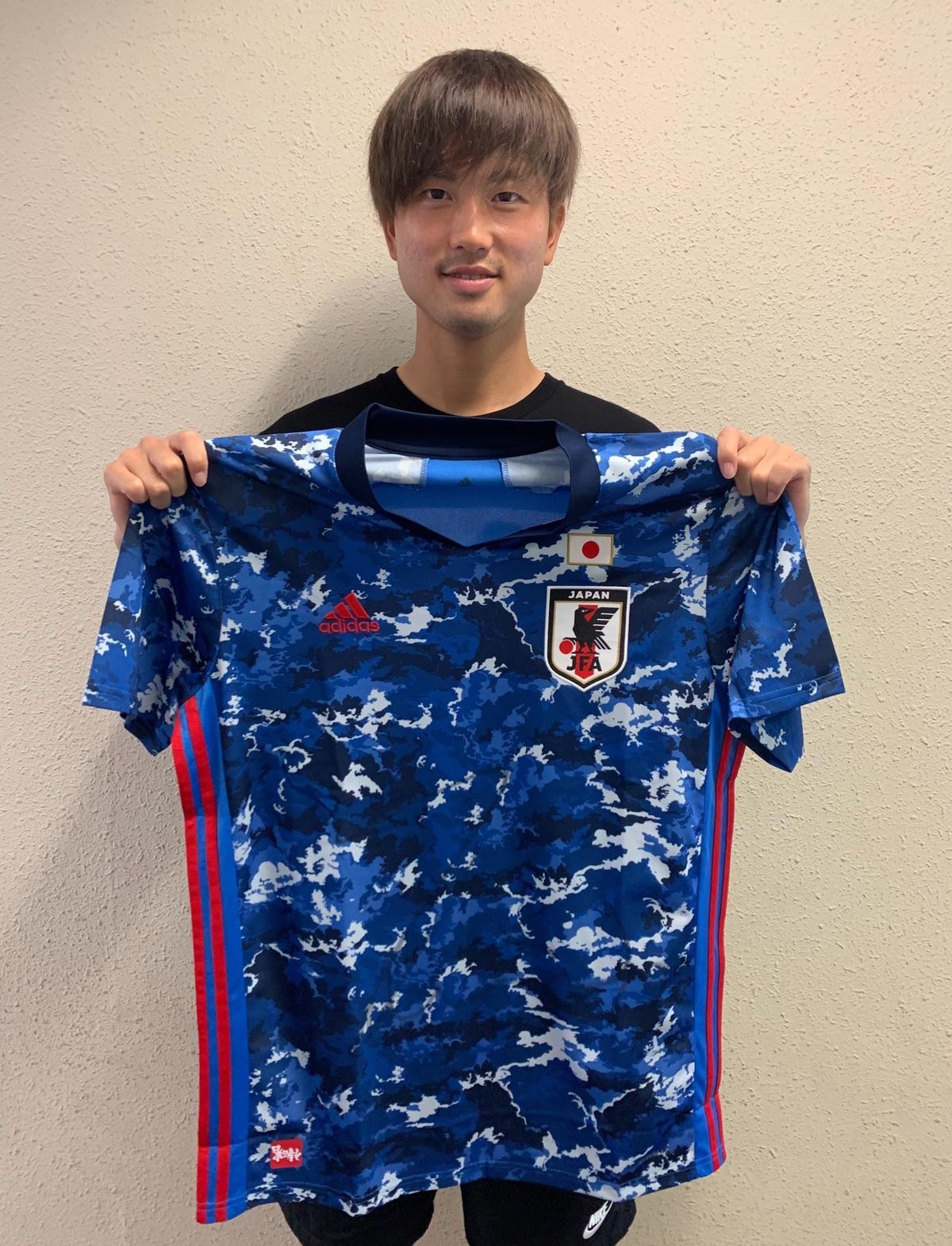 【直筆サイン入り公式】U-23日本代表 宮崎 幾笑 選手(FC東京)