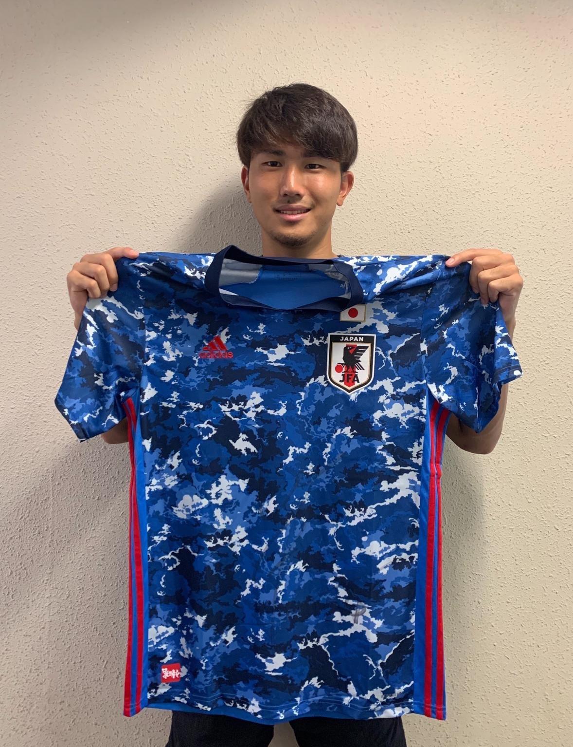 【直筆サイン入り公式】U-23日本代表 渡辺 剛 選手(FC東京)